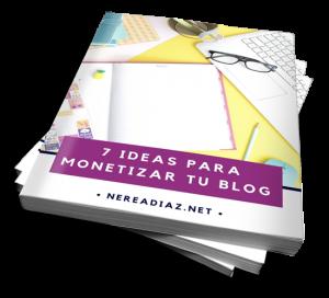 ideas para monetizar el blog